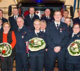 Jahreshauptversammlung Löschgruppe Löhne-Ort