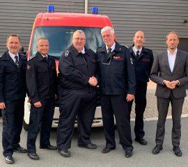 Leiter der Feuer- und Rettungswache in den Ruhestand verabschiedet