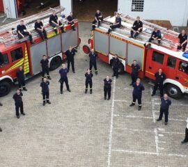 Grundlehrgang der Freiwilligen Feuerwehren Kirchlengern und Löhne